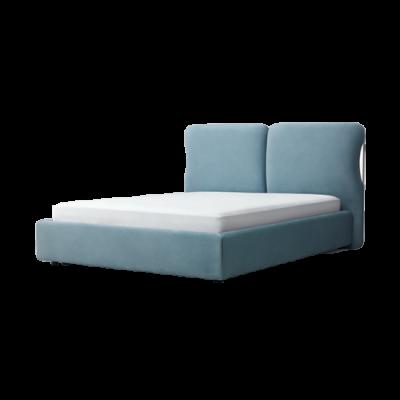 [PISOLO] 다비드 침대 (소프트 블루) Q